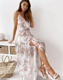 Φόρεμα - κώδ. 4800 - 2 - πολύχρωμο