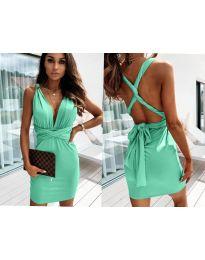 Φόρεμα - κώδ. 4017 - πράσινο