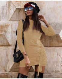 Φόρεμα - κώδ. 9545 - μπεζ