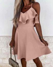 Φόρεμα - κώδ. 2739 - ροζ