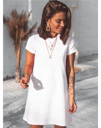Φόρεμα - κώδ. 2299 - λευκό