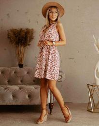 Φόρεμα - κώδ. 6123 - λαδί