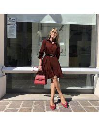 Φόρεμα - κώδ. 960 - μπορντό