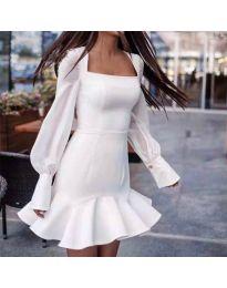 Φόρεμα - κώδ. 3605 - λευκό