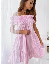 Φόρεμα - κώδ. 0299 - ροζ
