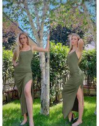 Φόρεμα - κώδ. 7858 - λαδί