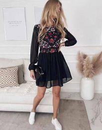 Φόρεμα - κώδ. 3482 - μαύρο
