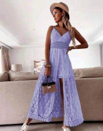 Φόρεμα - κώδ. 2704 - ανοιχτό μωβ