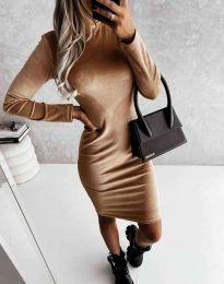 Φόρεμα - κώδ. 9368 - καπουτσίνο