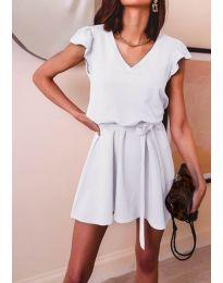 Φόρεμα - κώδ. 5551 - λευκό