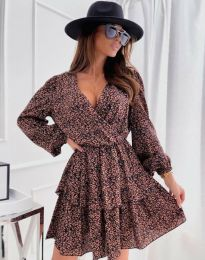 Φόρεμα - κώδ. 1649 - φλοράλ
