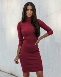 Φόρεμα - κώδ. 3491 - μπορντό