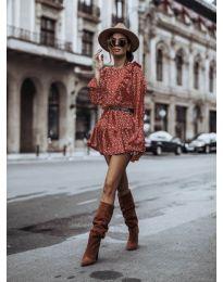 Φόρεμα - κώδ. 0701 - κόκκινο