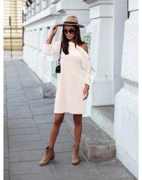 Φόρεμα - κώδ. 8171 - λευκό