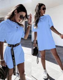 Φόρεμα - κώδ. 8809 - γαλάζιο