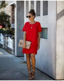 Φόρεμα - κώδ. 253 - κόκκινο