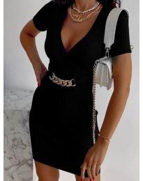 Φόρεμα - κώδ. 4305 - μαύρο