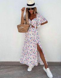 Φόρεμα - κώδ. 6798 - λευκό