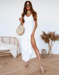 Φόρεμα - κώδ. 11881 - λευκό