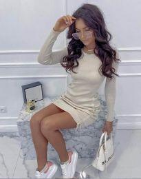 Φόρεμα - κώδ. 2286 - μπεζ