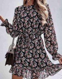 Φόρεμα - κώδ. 6448 - πολύχρωμο