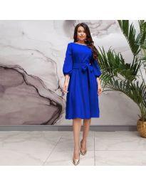 Φόρεμα - κώδ. 4571 - σκούρο μπλε