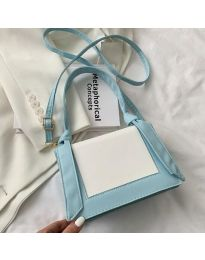 Τσάντα - κώδ. B574 - γαλάζιο