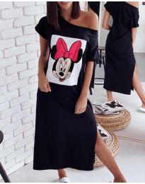 Φόρεμα - κώδ. 6656 - μαύρο