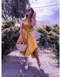 Φόρεμα - κώδ. 0020 - μουσταρδί