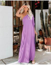 Φόρεμα - κώδ. 6681 - μωβ