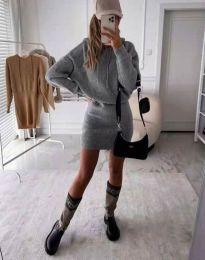 Φόρεμα - κώδ. 0235 - γκρι
