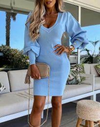 Φόρεμα - κώδ. 2917 - γαλάζιο