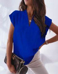 Κοντομάνικο μπλουζάκι - κώδ. 1745 - μπλε