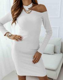 Φόρεμα - κώδ. 0984 - 1 - λευκό