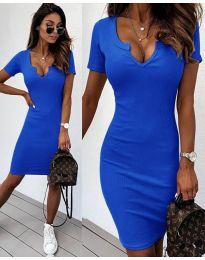Φόρεμα - κώδ. 8829 - σκούρο μπλε