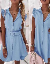 Φόρεμα - κώδ. 7411 - γαλάζιο