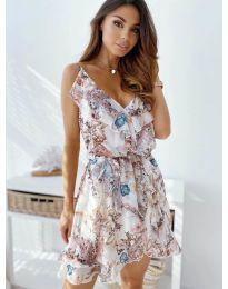 Φόρεμα - κώδ. 3677 - λευκό