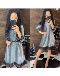 Φόρεμα - κώδ. 1426 - γκρι