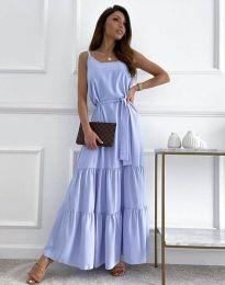Φόρεμα - κώδ. 2578 - γαλάζιο