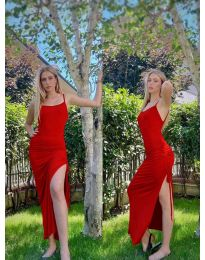Φόρεμα - κώδ. 7858 - κόκκινο
