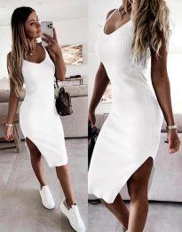 Φόρεμα - κώδ. 2378 - λευκό