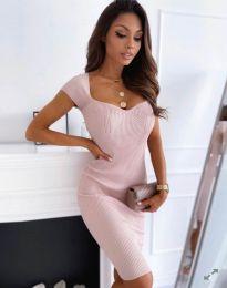Φόρεμα - κώδ. 0992 - ανοιχτό ροζ