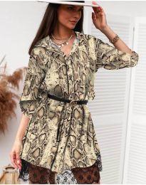 Φόρεμα - κώδ. 3635 - 4 - πολύχρωμο