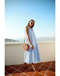 Φόρεμα - κώδ. 8810 - γαλάζιο