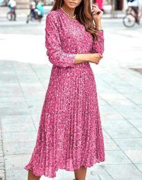 Φόρεμα - κώδ. 1418 - ροζ