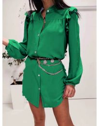 Φόρεμα - κώδ. 3433 - πράσινο