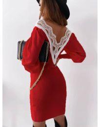 Φόρεμα - κώδ. 1718 - κόκκινο