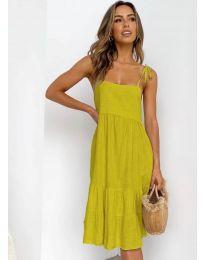 Φόρεμα - κώδ. 630 - μουσταρδί