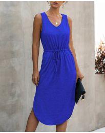 Φόρεμα - κώδ. 681 - μπλε