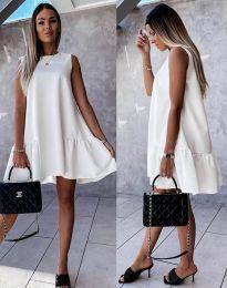 Φόρεμα - κώδ. 3456 - λευκό